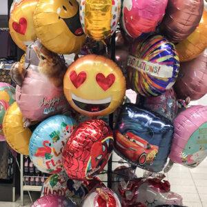 Heliu pildomi foliniai balionai