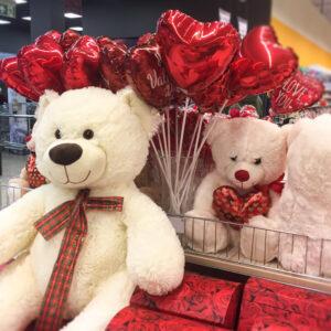 Šv. Valentino dienos asortimentas: mini foliniai balionai